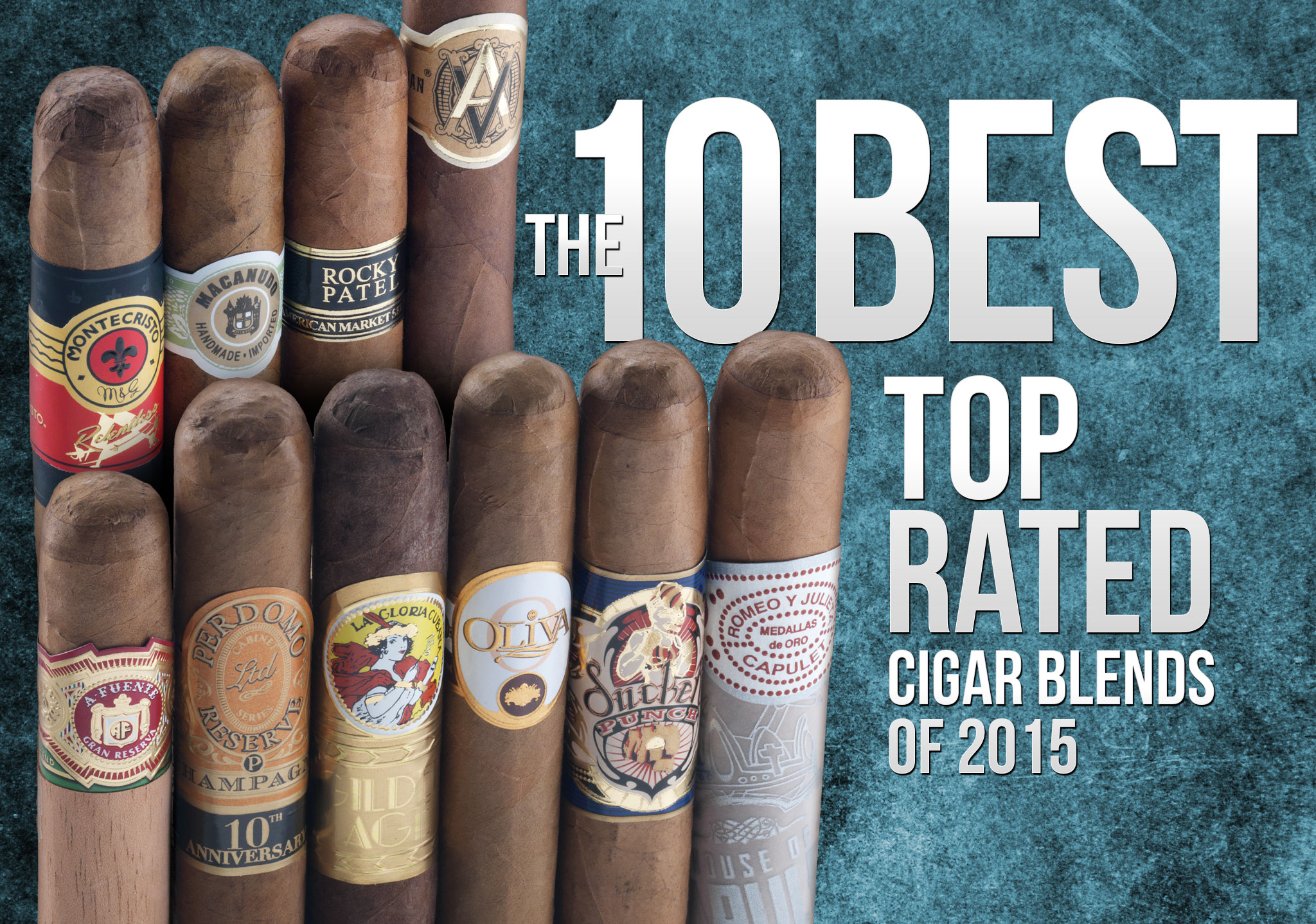 The 10 Best Top-Rated Cigar Blends of 2015