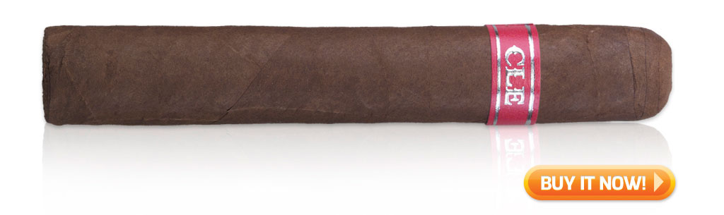 CLE Plus 2015 cigar review Robusto