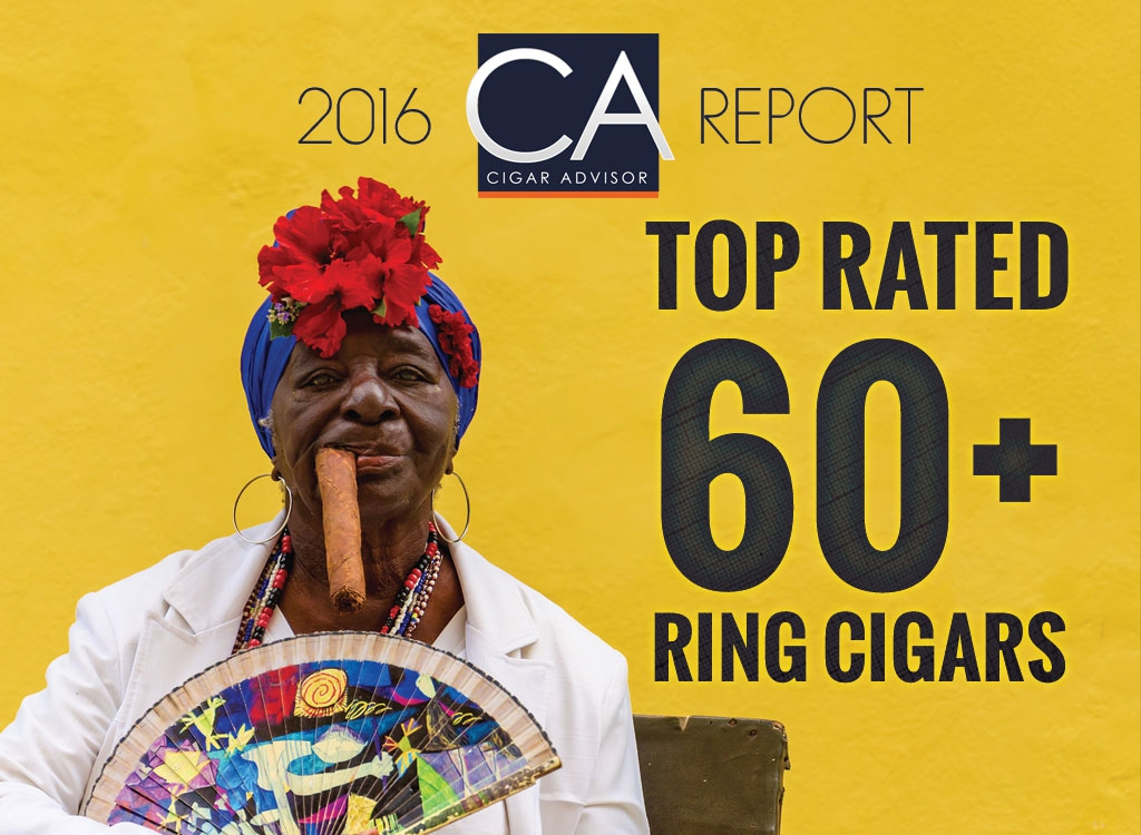 2016 CA Report: Top Rated 60 Ring Cigars (and up)