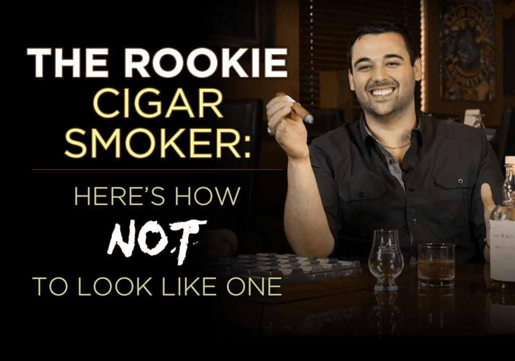 rookie cigar smoker tips