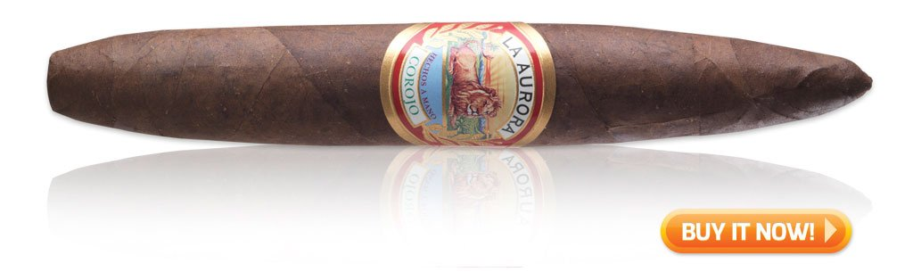 buy La Aurora Preferidos Corojo toro cigars on sale