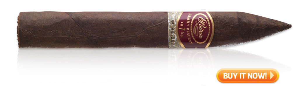 buy Padron family reserve cigars on sale best tasting maduro