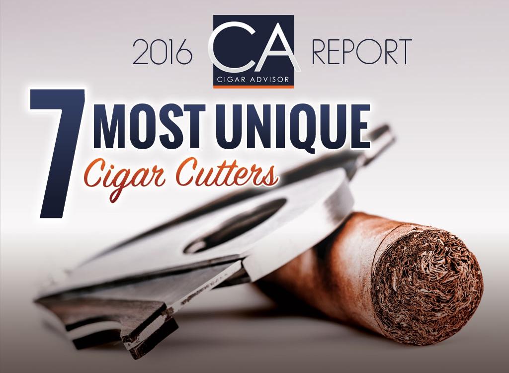 2016 CA Report: 7 Most Unique Cigar Cutters
