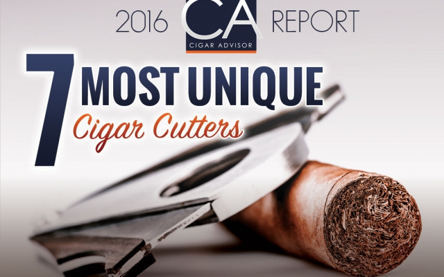 2016 CA Report: 7 Most Unique Cigar Cutters