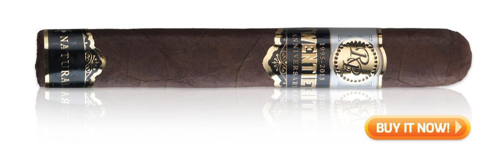 buy Rocky Patel 20th Anniversary cigar pairings
