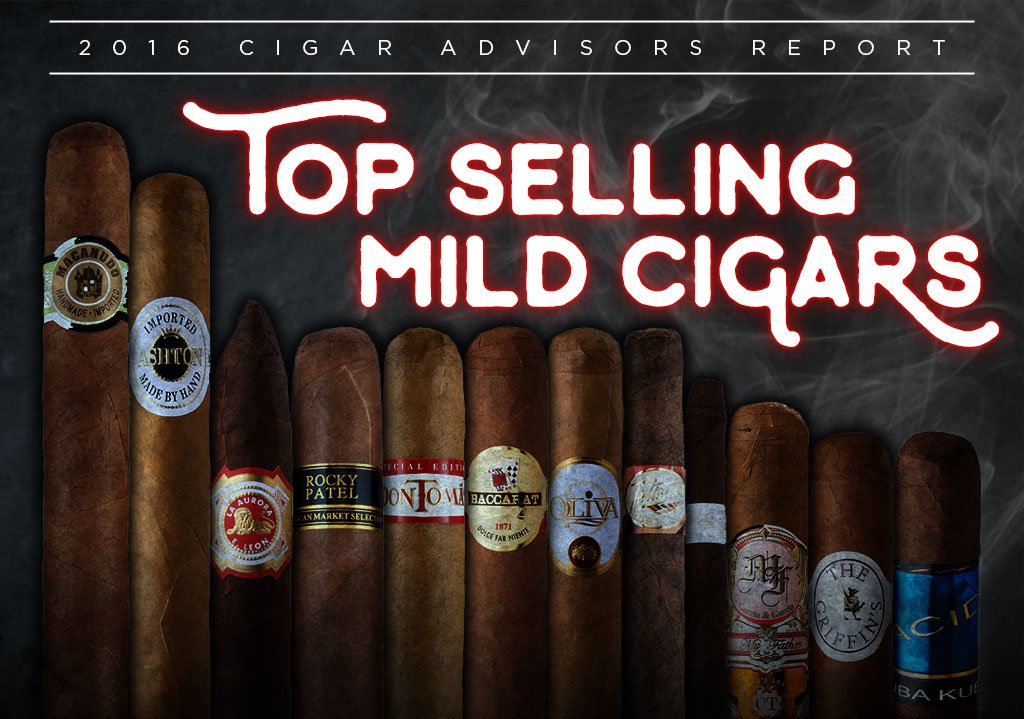 2016 CA Report: The Top 12 Best Selling Mild Cigars
