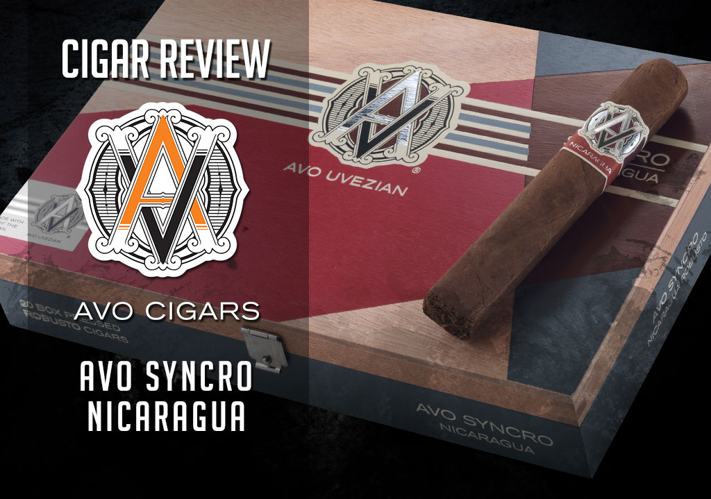 CA Cover AVO Syncro nicaragua cigar review