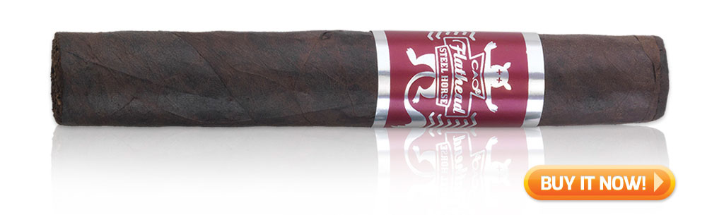 buy CAO Flathead Steel Horse full bodied cigars