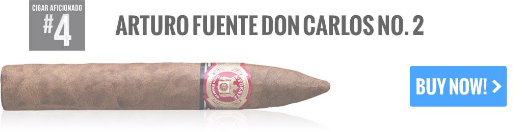 top 25 cigars arturo fuente don carlos cigars