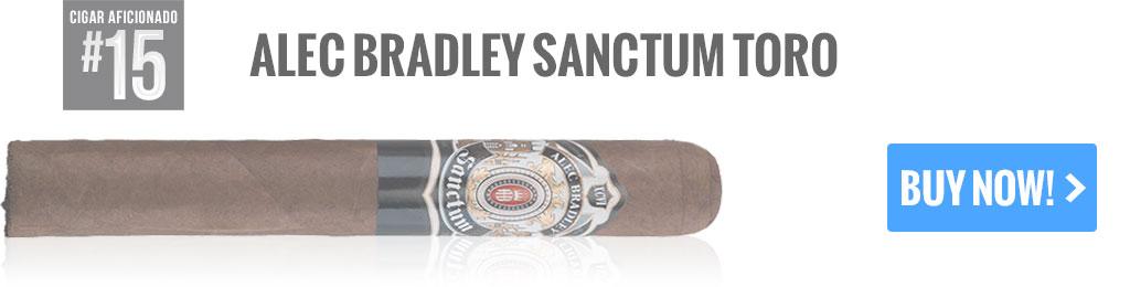 top 25 cigars alec bradley sanctum toro cigars