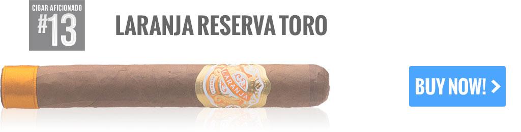 top 25 cigars laranja reserva toro cigars