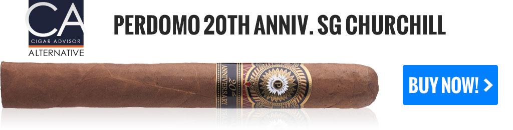 top 25 cigars alternatives perdomo 20th anniversary sun grown churchill cigars