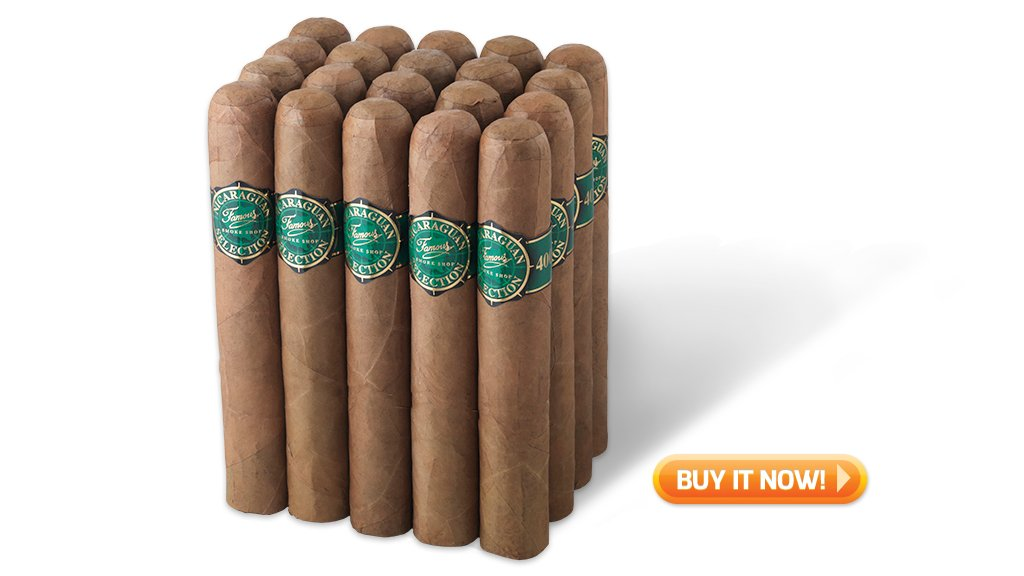buy Famous Nic 4000 bundle golf cigars on sale