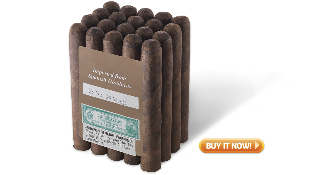 buy General Honduran maduro bundle golf cigars on sale