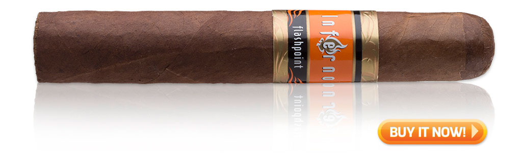 Buy Inferno Flashpoint Robusto bachelor party cigars