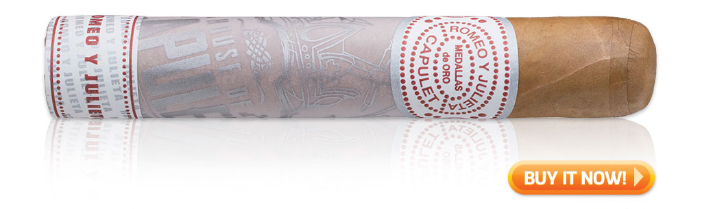 buy Romeo y Julieta House of Capulet Robusto bachelor party cigars