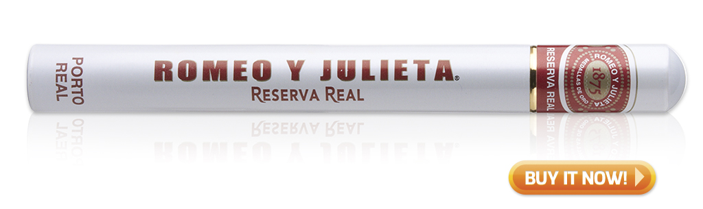 buy Romeo y Julieta Reserva Real Porta Real golf cigars on sale
