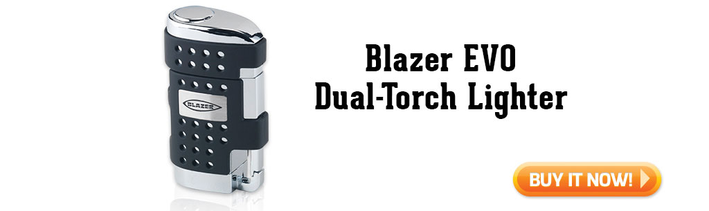 Blazer EVO Dual Torch Lighter summer cigar accessories