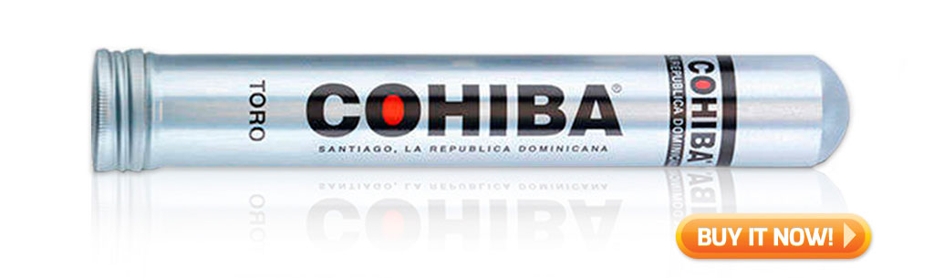 buy Cohiba Toro cigars Tube
