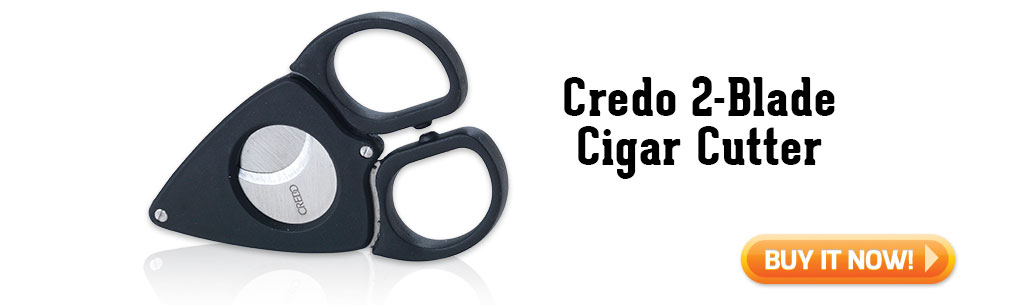 Credo 2 Blade Cigar Cutter summer cigar accessories