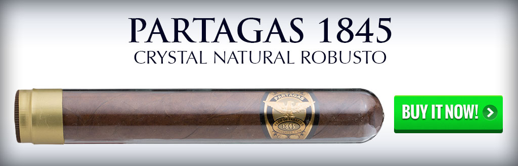 top rated cigars bbq Partagas 1845 crystal cigars