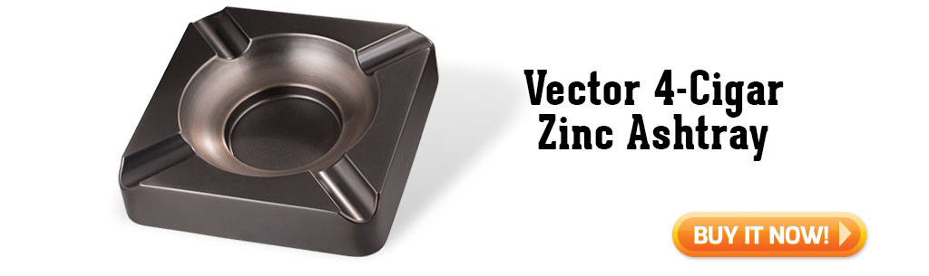 Vector 4 Cigar Zinc Ashtray summer cigar accessories