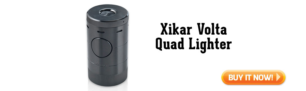 Xikar Volta Quad Lighter summer cigar accessories