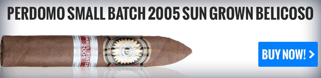 buy perdomo small batch cigar review sun grown belicoso