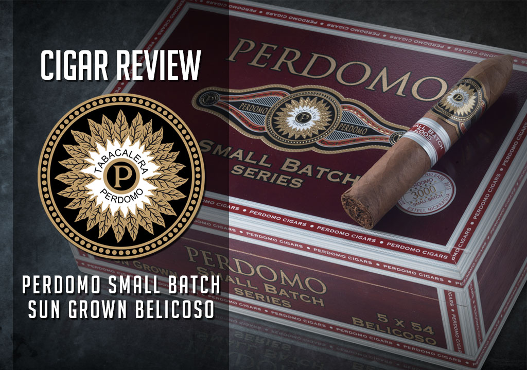 perdomo small batch cigar review cover