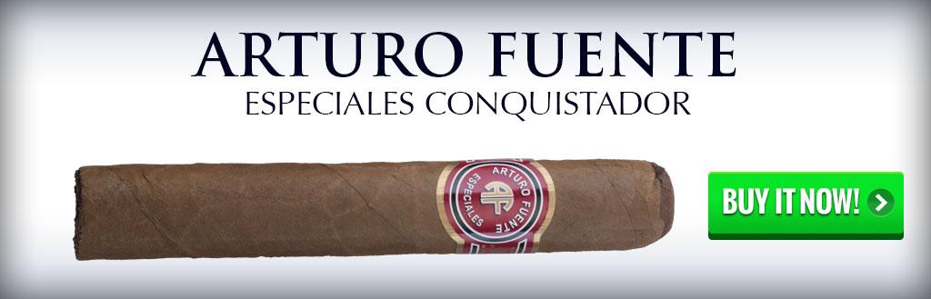 buy arturo fuente especiales conquistador cigars on sale online
