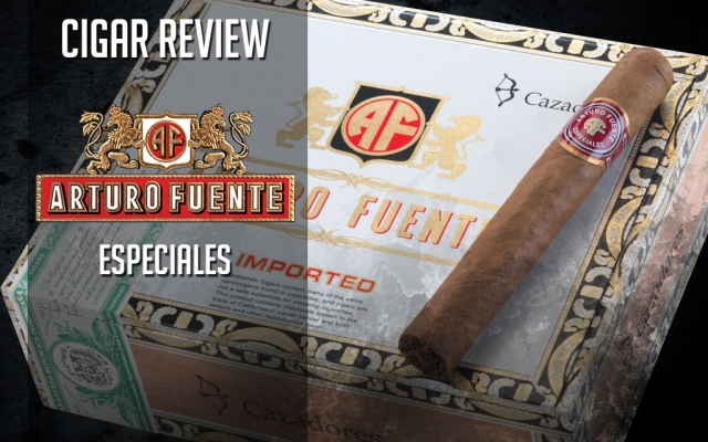 Arturo Fuente Especiales Cigar Review – Video