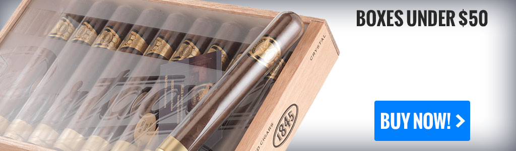 buy father's day cigar boxes under 50 dollars online