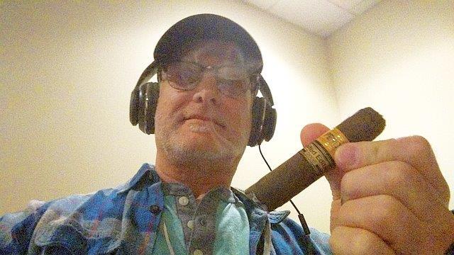 gary smoking perdomo cigars