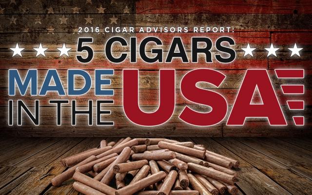 2016 CA Report: 5 Great American Cigars