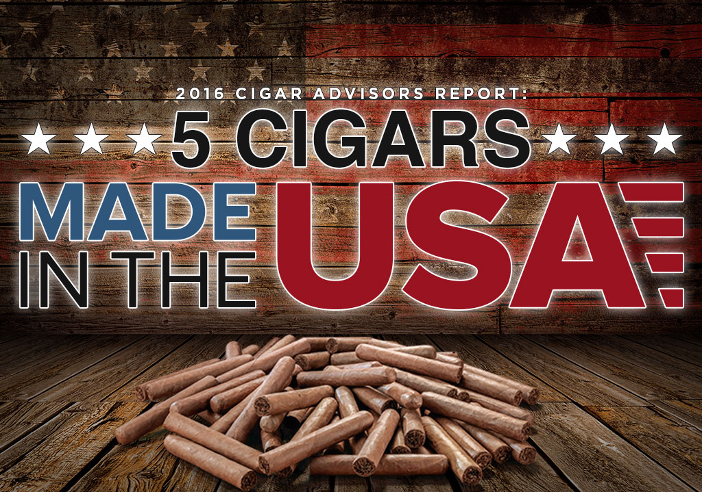 2016 CA Report: 5 Great American Cigars