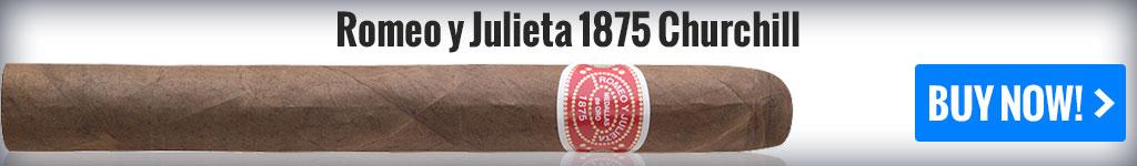 buy romeo y julieta churchill cigars online first cigar