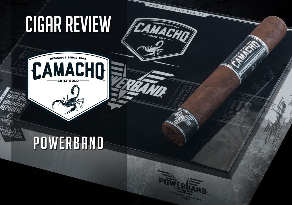 CACover Camacho Powerband cigar review