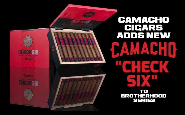 "Camacho Cigars Adds New Camacho ""Check Six"" to Brotherhood Series"