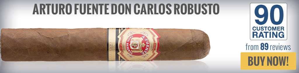 buy arturo fuente don carlos top rated robusto cigars