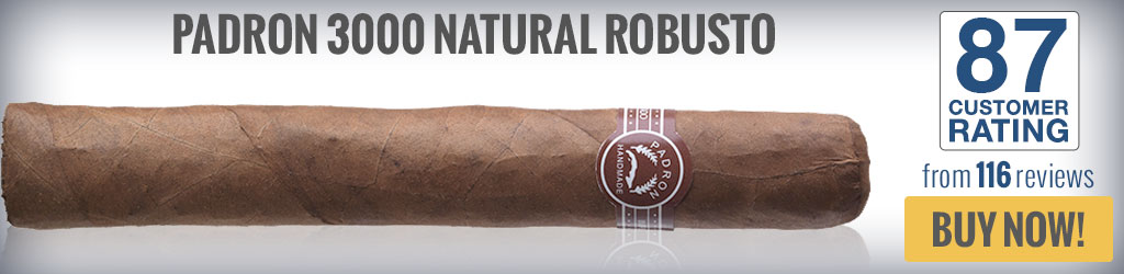buy padron 3000 top rated robusto cigars
