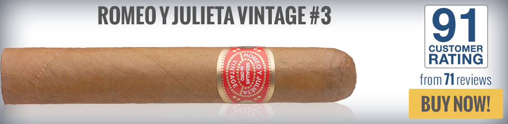 buy romeo y julieta vintage top rated robusto cigars