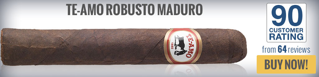 buy te-amo maduro top rated robusto cigars