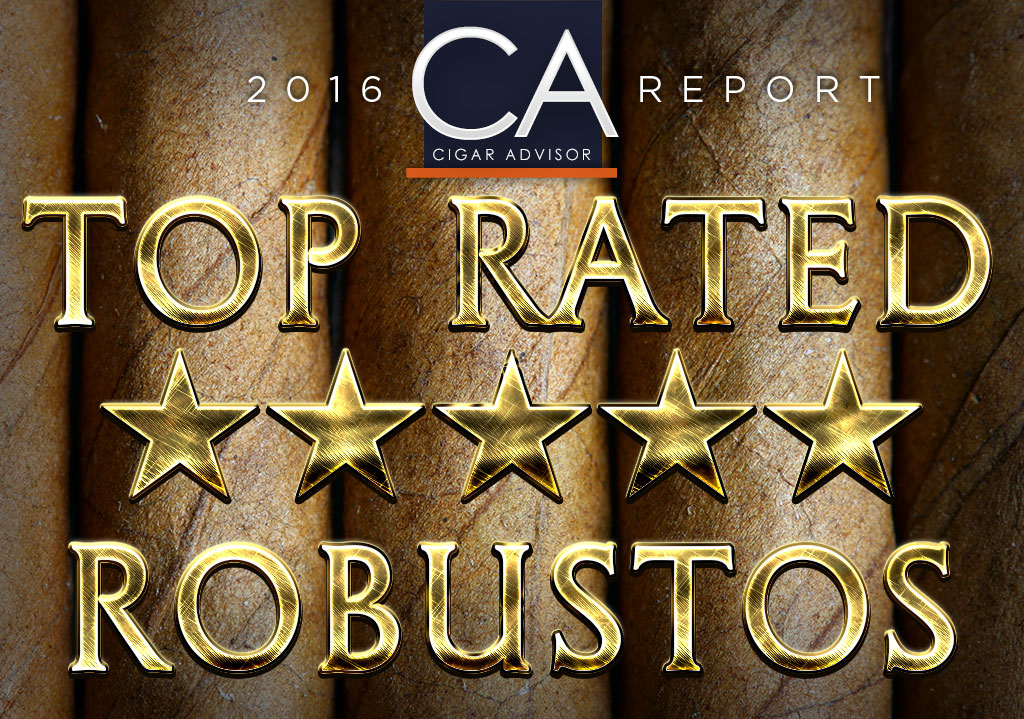2016 CA Report: Top Rated Robusto Cigars