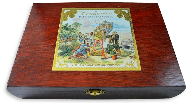 buy Gran Habano La Conquista cigars Box