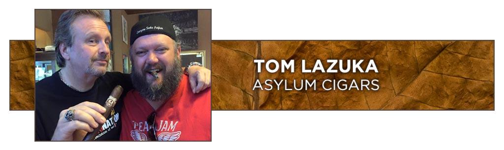 Tom Lazuka cigar makers