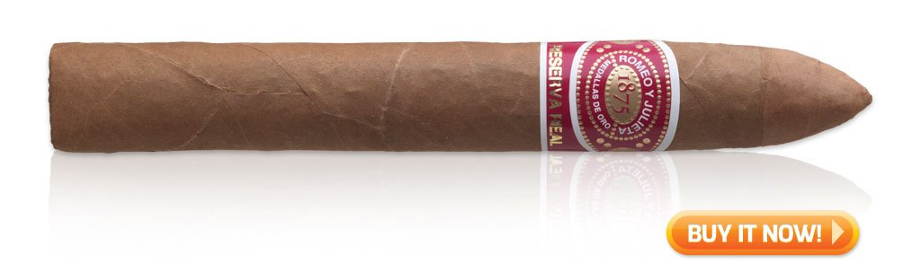 buy Romeo y Julieta Reserva Real torpedo 2 grandfathered cigars