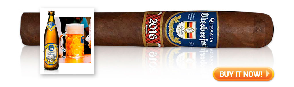 buy Quesada Oktoberfest beer and cigar pairings