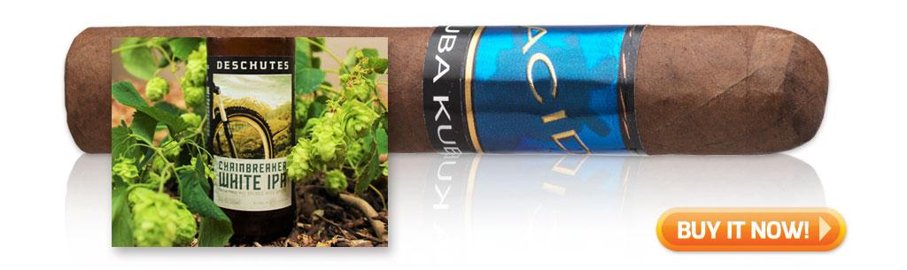 acid kuba kuba cigar pairings