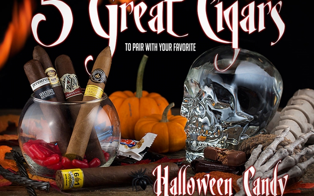 5 Picks: Pairing Halloween Candy and Cigars