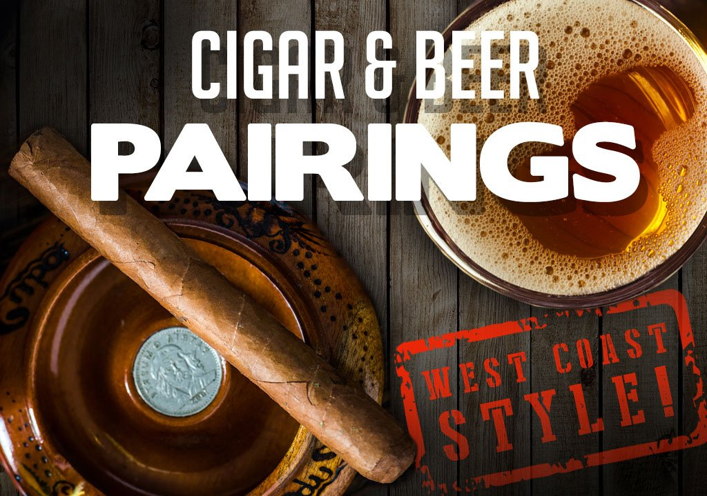 CACover West Coast Beer and cigar Pairings